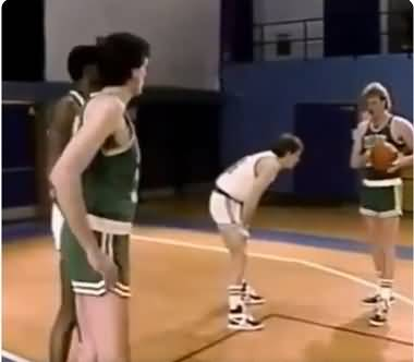 Larry Bird - pick and roll options