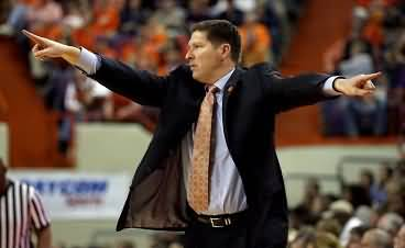 Coach Brad Brownell