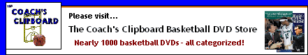 Basketball DVDs at the Coach's Clipboard DVD Store!