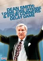 Dean Smith: T-Game Zone Offense and Four Corners Delay Game