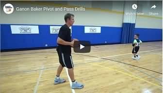 Ganon Baker Pivot Pass Drills