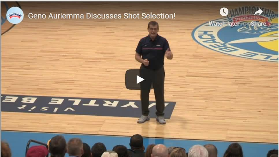 Geno Auriemma video