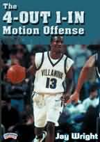 Jay Wright: The 4-Out 1-In Motion Offense