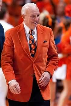 Coach Lou Henson