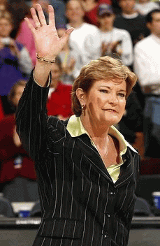 Legendary Tennessee Coach Pat Summitt
