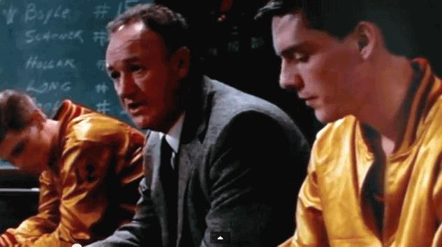 Hoosiers Coach Norman Dale