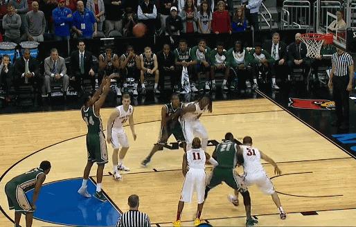 Rebounding a free throw