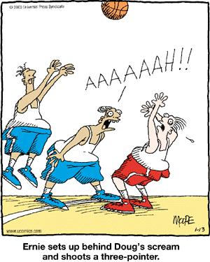 Ball scream!