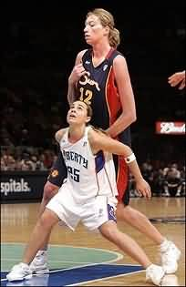 small basketball player