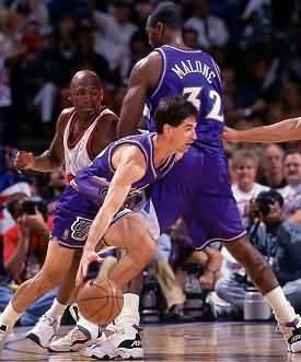 Stockton and Malone pick and roll