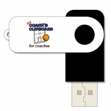 New Coach's Clipboard USB thumb drive