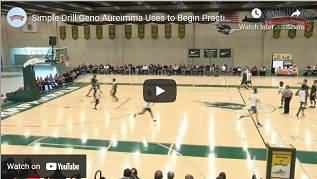 Auriemma lay-up drill