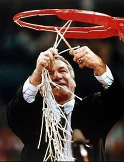 North Carolina Coach Dean Smith