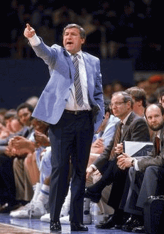 Legendary North Carolina Coach Dean Smith