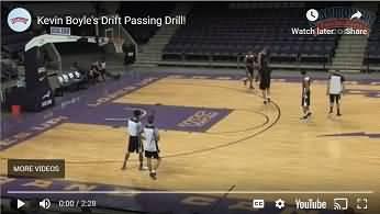 Drift passing drill video