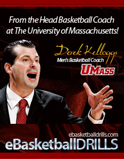 eBasketballdrills.com basketball community from Coach Derek Kellogg