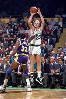 Larry Bird Shooting
