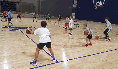 stationary dribbling drills