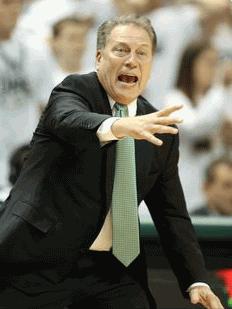 MSU Head Coach Tom Izzo