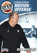 Coach Huggins teaches the open post offense